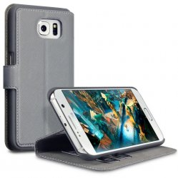 Mobilväska Galaxy A3 2017 Grey Slim