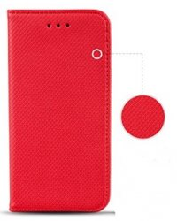 Flip Cover Samsung Galaxy A3 2017 Red