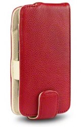 Flipväska Doro Liberto 820 Mini Cow Leather WineRed