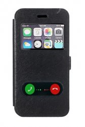 Flip Cover Double Windows iphone 7/ iphone 8 Black