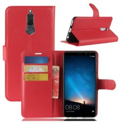 Mobilväska Huawei Mate 10 LITE Red w/Stand