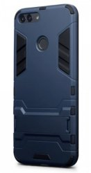 Mobilskal Huawei P Smart Armour Blue w/Stand