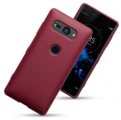 Mobilskal Sony Xperia XZ2 Compact Matte Red