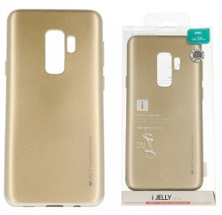 Mobilskal Samsung Galaxy S9 Plus i-Jelly Metal Gold