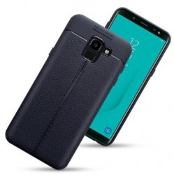 Mobilskal Galaxy J6 2018 Leather Look