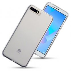 Mobilskal Huawei Y6 2018 Frosted Clear