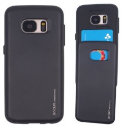 Mobilskal Samsung Galaxy S8 Slide w/Card Black
