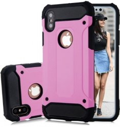 Mobilskal iphone X / iphone XS Armour Rosa