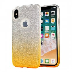 Mobilskal iPhone 6/6S Glitter Gold