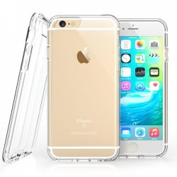 Mobilskal iPhone 6/6S Clear + Displayskydd