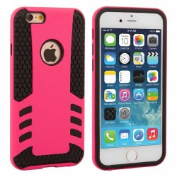 Mobilskal iPhone 6/6S Pink/Black