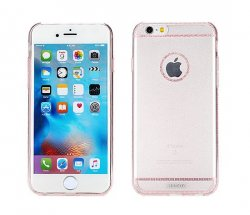 Mobilskal Remax iPhone 7/8 Pink Glitter
