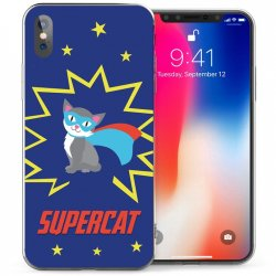 Mobilskal iPhone X/XS Supercat