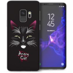 Mobilskal Samsung Galaxy S9 Angry Cat