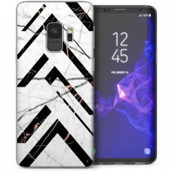 Mobilskal Samsung Galaxy S9 Black & White Marble