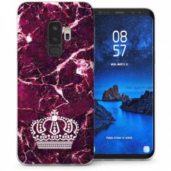 Mobilskal Samsung Galaxy S9 PLUS Marble Crown