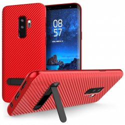 Mobilskal Samsung Galaxy S9 PLUS Red med Stand