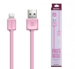 REMAX USB Lightning Kabel 1M Rosa