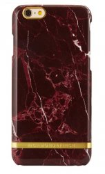 Mobilskal Richmond & Finch Red Marble Glossy iPhone 7/8