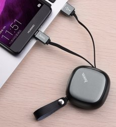 Utdragbar Laddkabel USB Lightning HOCO