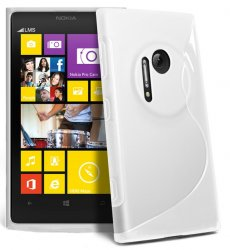 Back Cover Lumia 1020 Style White