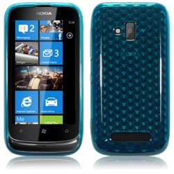 Back Cover Lumia 610 Ocean Turquoise