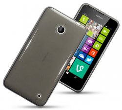 Back Cover Lumia 630/635 Smoke Black