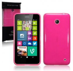 Back Cover Lumia 630/635 Hot Pink