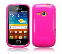 Back Cover Galaxy Mini 2 Solid Pink
