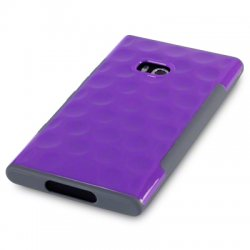 Back Cover Lumia 900 Side Grip Purple