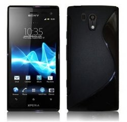 Back Cover Xperia Acro S Style Black