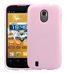 Back Cover ZTE Blade 3 Solid Pink