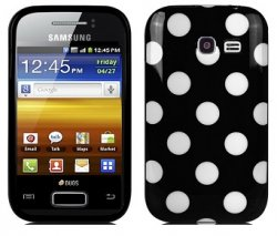 Back Cover S6102 Galaxy Y Duos Mini Dots