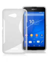 Bakskal Xperia E4G Style Frosted Clear