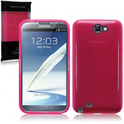Back Cover Galaxy Note 2 Hot Pink