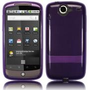 Google Nexus One Back Cover Gel Dark Purple