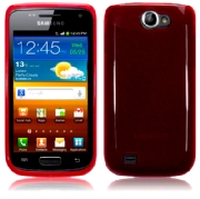 Back Cover i8150 Galaxy W Pure Red