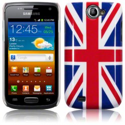 Back Cover i8150 Galaxy W Union Jack