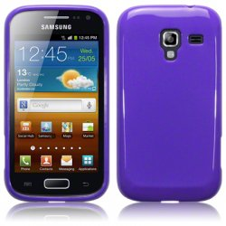 Back Cover Galaxy Ace 2 Solid Purple