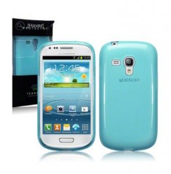 Back Cover i8190 Galaxy S3 Mini Ocean Turquoise
