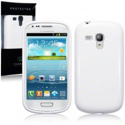 Back Cover i8190 Galaxy S3 Mini Solid White