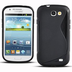 Back Cover i8730 Galaxy Express Style Black