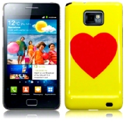 Back Cover i9100 Galaxy S2 Red Heart