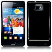 Back Cover i9100 Galaxy S2 Solid Black
