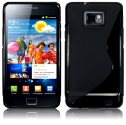 Back Cover i9100 Galaxy S2 Style Black