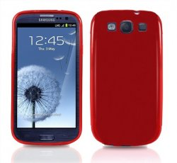 Back Cover i9300 Galaxy S3 Red