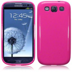 Back Cover i9300 Galaxy S3 Solid Pink