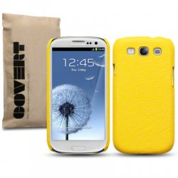 Back Cover i9300 Galaxy S3 Yellow