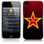 Back Cover iPhone 4/4s Communist Star