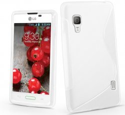 Back Cover Optimus L5 II Style White